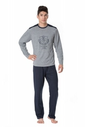 Rossli sam-py-099 piżama męska