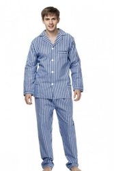Piżama męska kuba flanela nadwymiar 6xl-7xl
