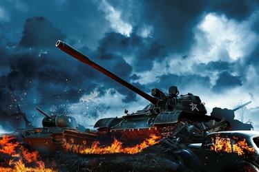 Fototapeta czołgi 856a
