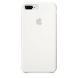 Apple iPhone 8 Plus  7 Plus Silicone Case - White
