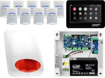 Zestaw alarmowy ropam neogsm-ip 9 x czujka bosch manipulator dotykowy tpr-4bs wifi gsm