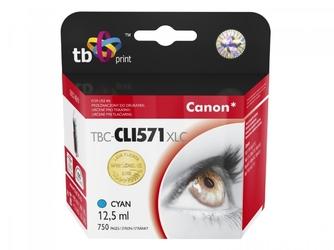 Tb print tusz do canon cli-571xl tbc-cli571xlc cy 100 nowy