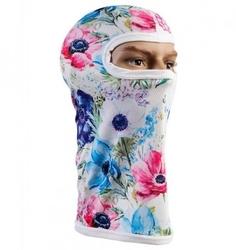 Kominiarka termoaktywna 3d - pastelowe kwiaty