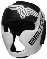 Beltor kask sparingowy top pro czarno-biały