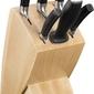 Blok z 5 nożami i ostrzałką passion