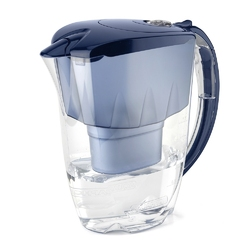 Dzbanek filtrujący wodę z wkładem aquaphor jasper b100-25 maxfor granatowy 2,8 l