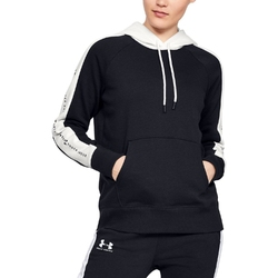 Bluza damska under armour rival fleece graphic hoodie novelty - czarny