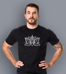 Lotos  t-shirt męski czarny m