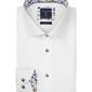 Biała koszula profuomo z wstawkami slim fit 45