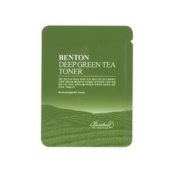 Benton lekki toner deep green tea toner 1,2g tester