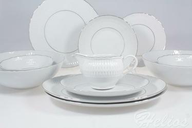 Serwis obiadowy bez wazy dla 12 os.  44 części - 3607 SOFIA  Platynowa