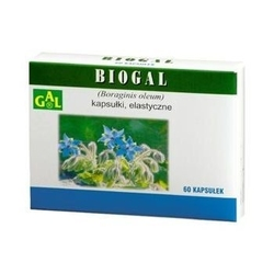 Biogal - ogórecznik lekarski 60kaps.