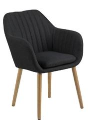 Krzesło emilia anthracite paski