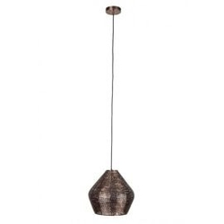 Dutchbone :: lampa wisząca cooper duża miedziana
