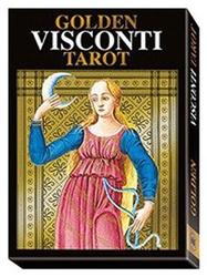 Golden visconti tarot - wielkie arkana