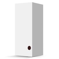 Klasyczne białe pudełko do kubka contigo glaze, contigo metra transit 470ml - biały