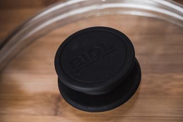 Biol pokrywka szklana okrągła wypukła średnica 28 cm