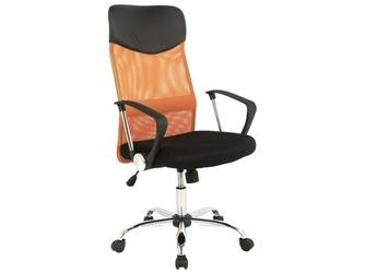 Fotel obrotowy Q-025 pomarańczowy