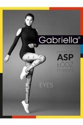Gabriella 380 eyes 20den nero rajstopy