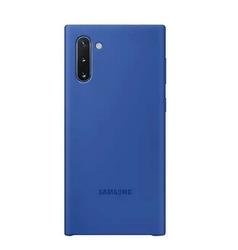 Samsung Etui Silicone Cover Note 10 niebieski