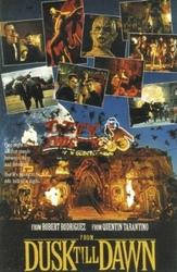 Od zmierzchu do świtu Quentin Tarantino - plakat