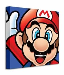 Super Mario Mario - Obraz na płótnie