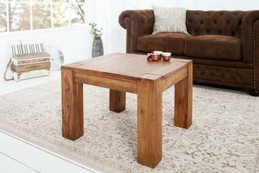 Stolik drewniany gorto 60 cm sheesham