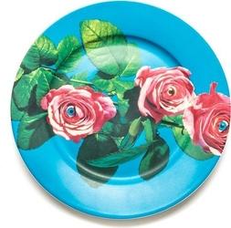 Talerz Seletti Wears Toiletpaper porcelanowy Roses