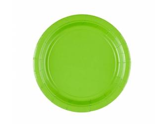 Talerzyki zielone - 18 cm - 20 szt.