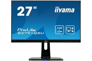 IIYAMA 27 B2791QSU-B1 WQHD,PIVOT,HDMI,DP,USB.
