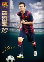 Fc Barcelona Lionel Messi 1415 - plakat