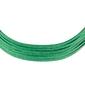 Choker zielony paski zamszowy naszyjnik - zielone