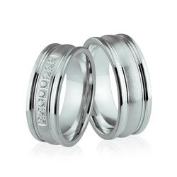 Obrączki srebrne - wzór ag-193