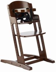 Krzesełko do karmienia baby dan danchair brązowe - brązowy