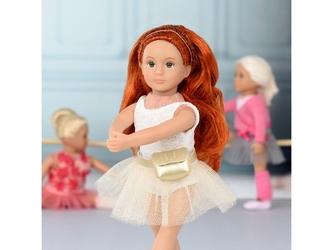 Mabel lalka baletnica ruda 15 cm