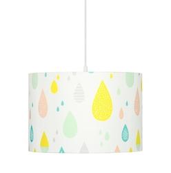 Lampa wisząca - pastelowe krople