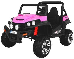 Grand buggy 4x4 różowy dwuosobowy pojazd terenowy
