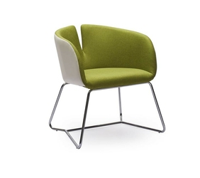 Fotel Pivot ekoskóra zielony