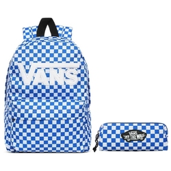 Plecak szkolny vans new skool victoria blue - vn0002tljbs + piórnik