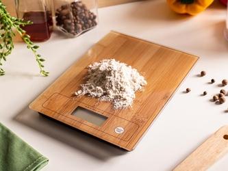Elektroniczna waga kuchenna altom design 20 x 15 cm, dekoracja bambus
