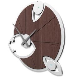Zegar ścienny andromeda swarovski calleadesign zebrano 10-128-87