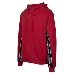 Bluza męska diadora hoodie trofeo - czerwony