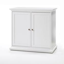 Romantyczna komoda paris 2 biała