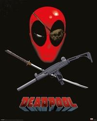 Deadpool Eye Patch - plakat filmowy