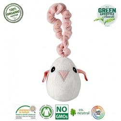 Maud n lil tweet the bird pink muzyczna zawieszka organiczna miękka
