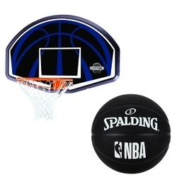 Zestaw do koszykówki lifetime dallas piłka spalding nba basketball out