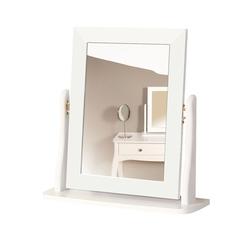 Lustro do toaletki baroque białe