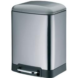 Stalowy kosz pedałowy do łazienki, 6 litrów davino kela ke-22998