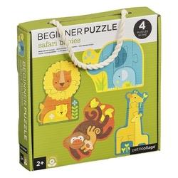Puzzle pierwsze petit collage  - safari 2+