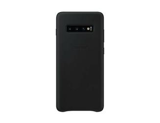 Samsung Etui Leather Cover do Galaxy S10+ czarne